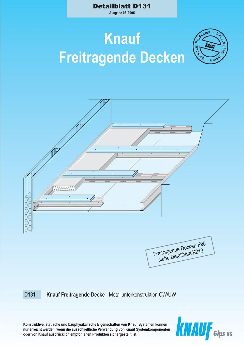 knauf freitragende decken f90 pdf. Black Bedroom Furniture Sets. Home Design Ideas