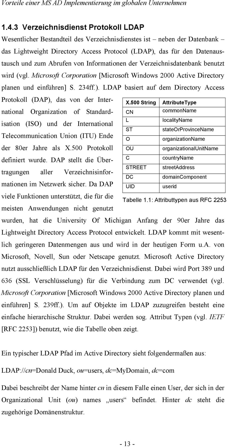 LDAP basiert auf dem Directory Access Protokoll (DAP), das von der International Organization of Standardisation (ISO) und der International Telecommunication Union (ITU) Ende der 80er Jahre als X.