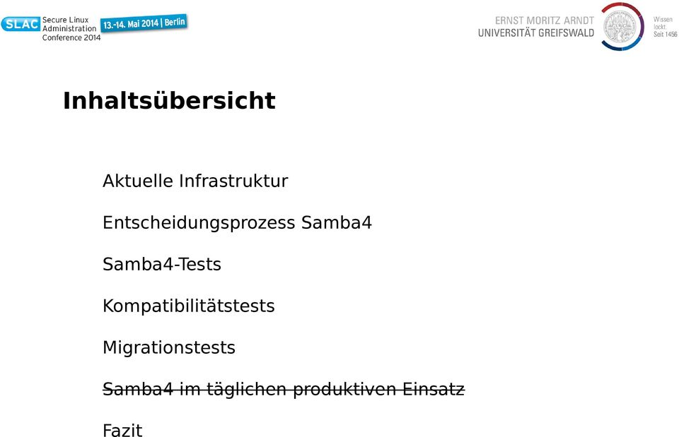 Kompatibilitätstests Migrationstests