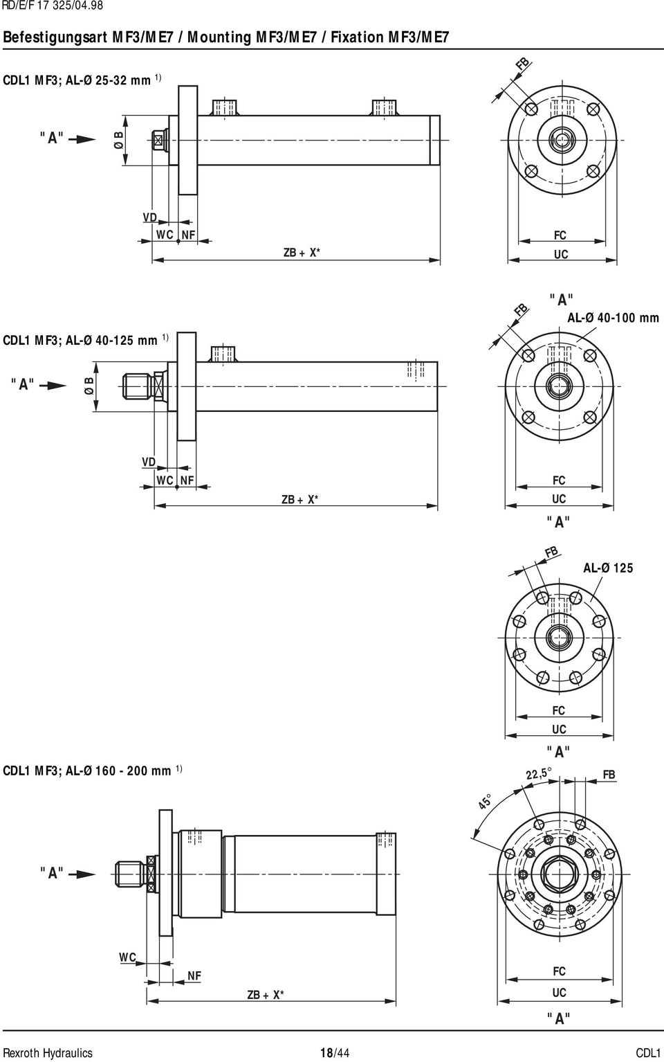 rexroth hydraulic cylinder catalogue pdf