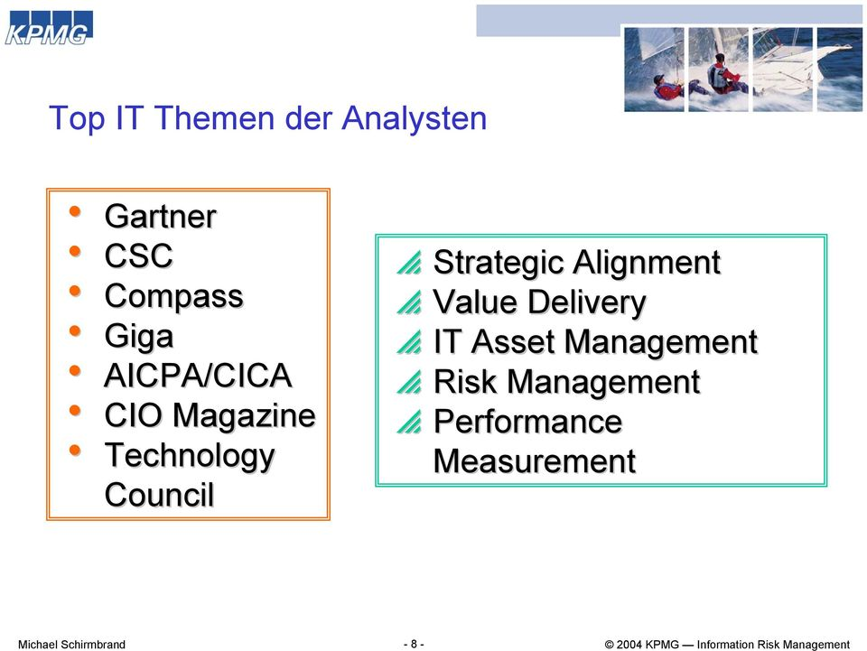 Technology Council p Strategic Alignment p Value