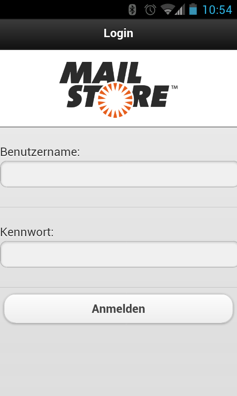 Zugriff über MailStore Mobile Web Access 84 3.