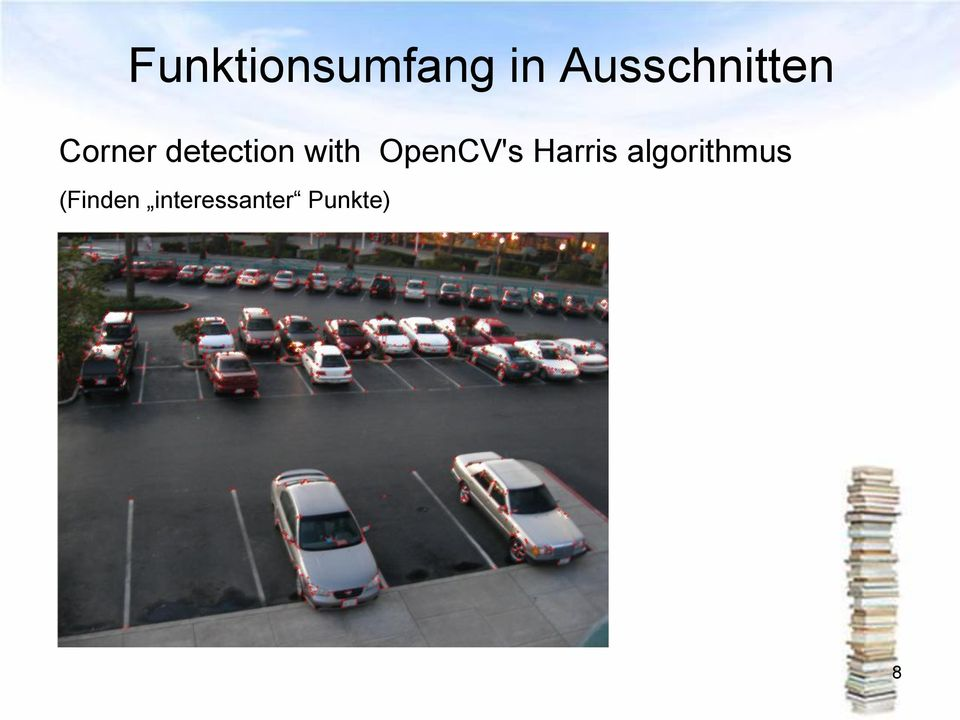 detection with OpenCV's