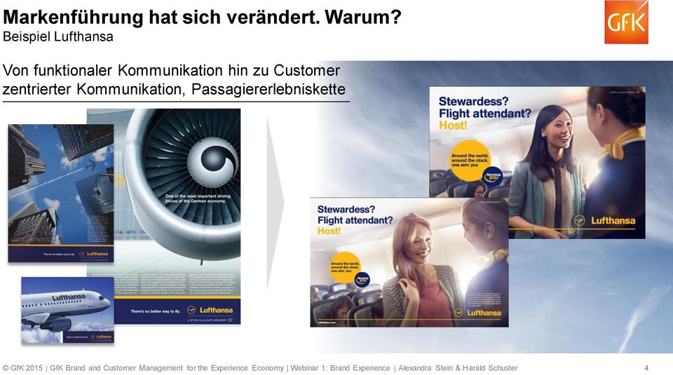 Kommunikation hin zu Customer