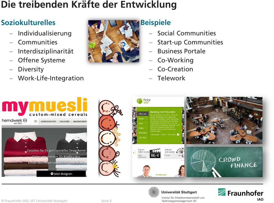 Systeme Diversity Work-Life-Integration Beispiele Social