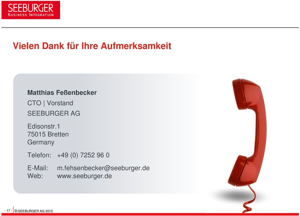 1 75015 Bretten Germany Telefon: +49 (0) 7252 96 0