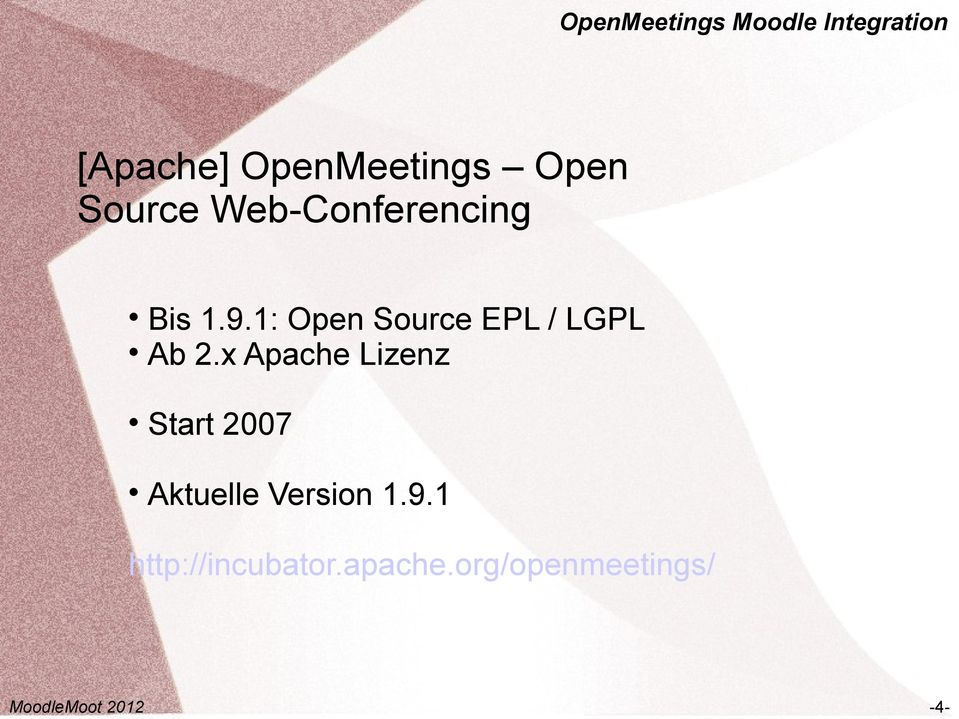 1: Open Source EPL / LGPL Ab 2.