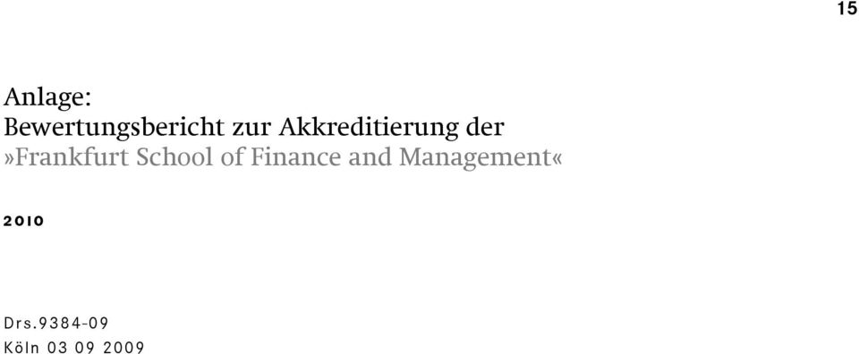 der»frankfurt School of Finance