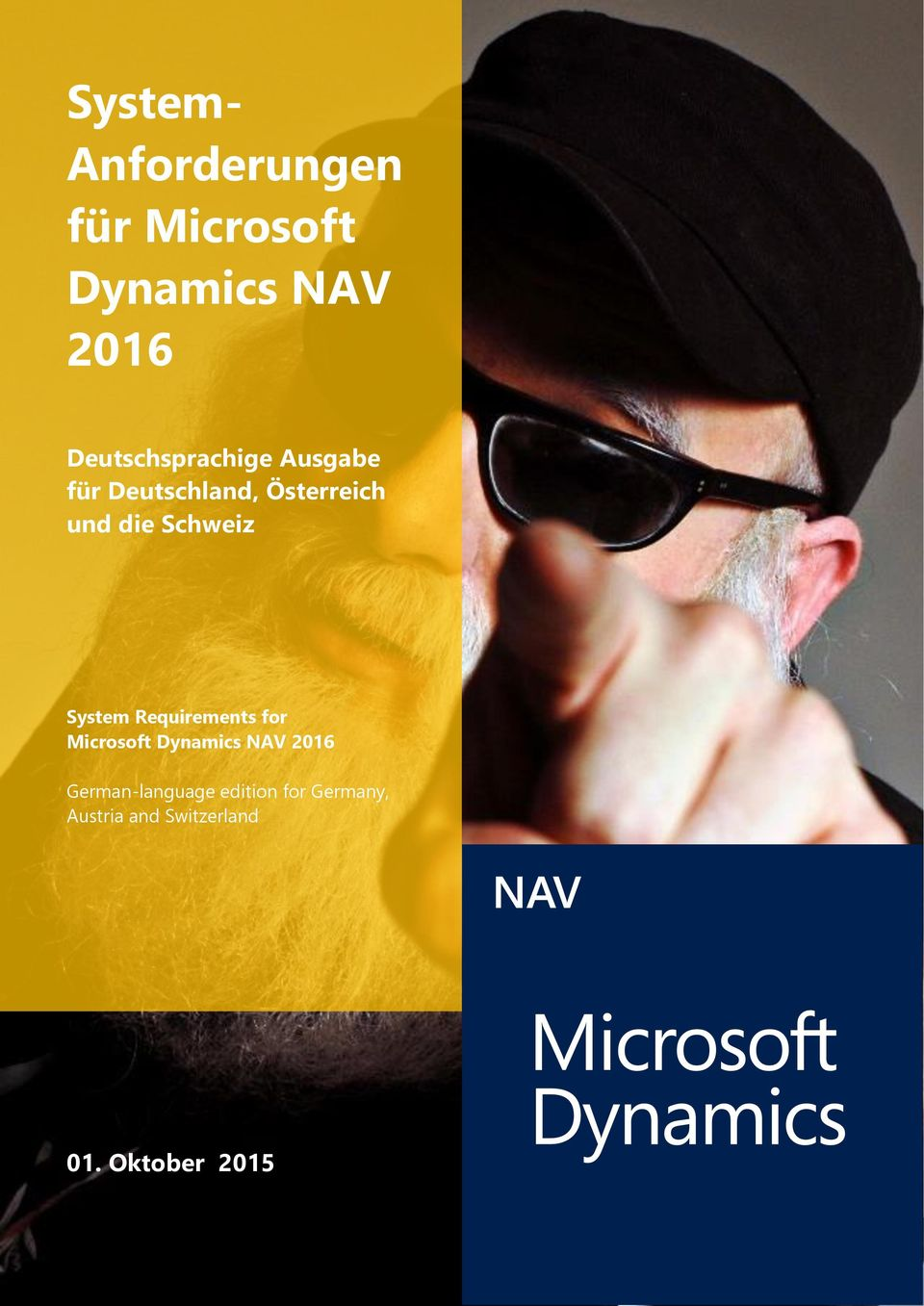 Dynamics NAV 2016 German-language edition for Germany, Austria and Switzerland