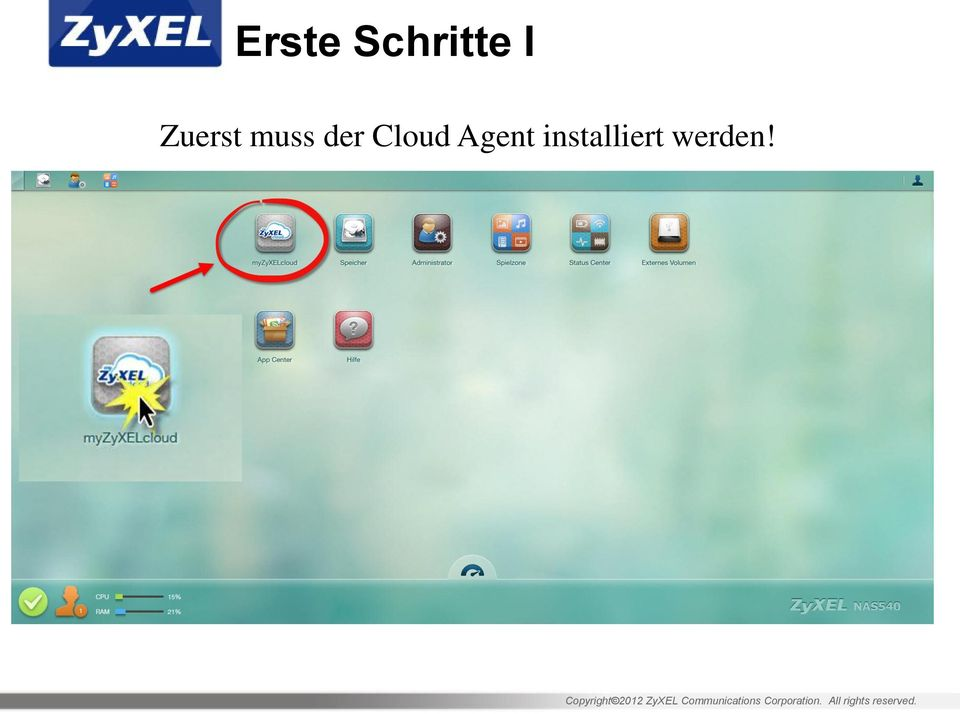 der Cloud Agent