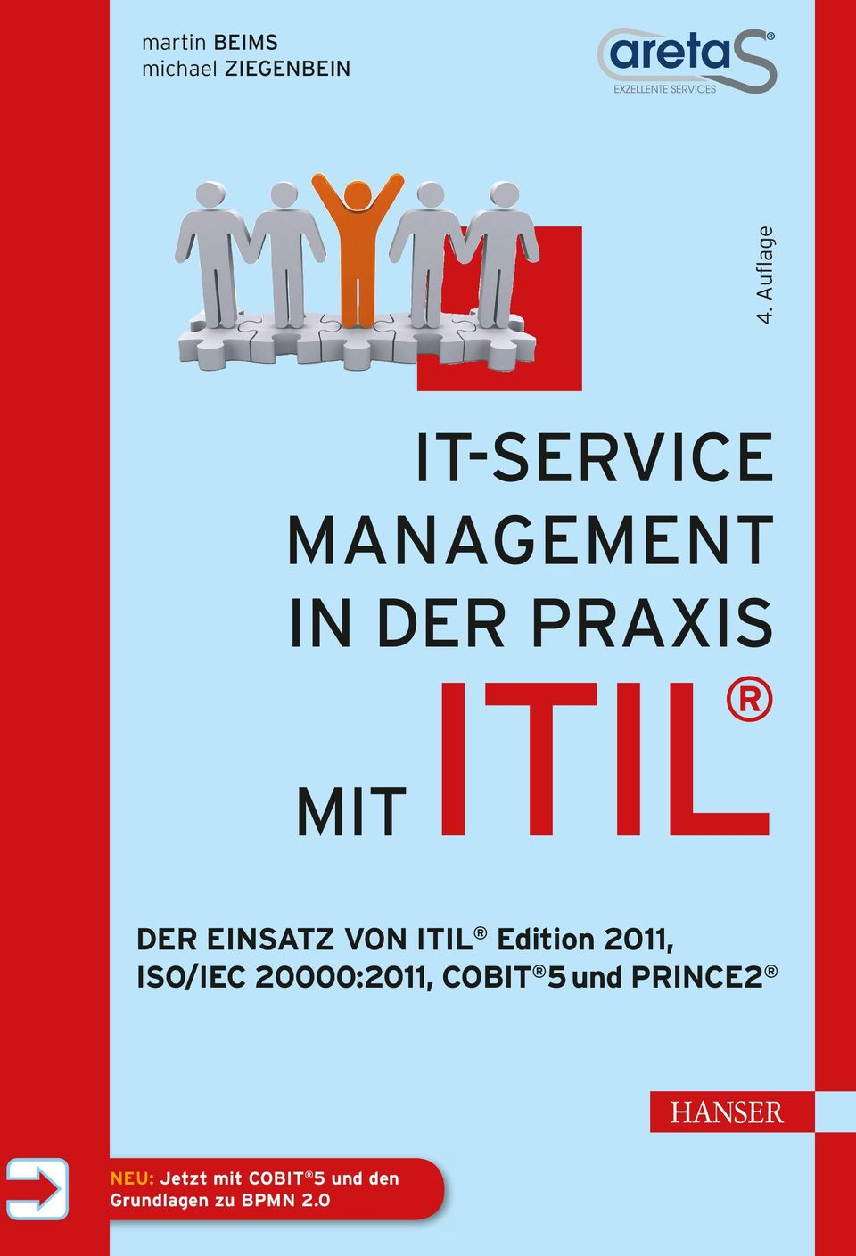 ITIL Edition 2011, ISO/IEC 20000:2011, COBIT 5 und