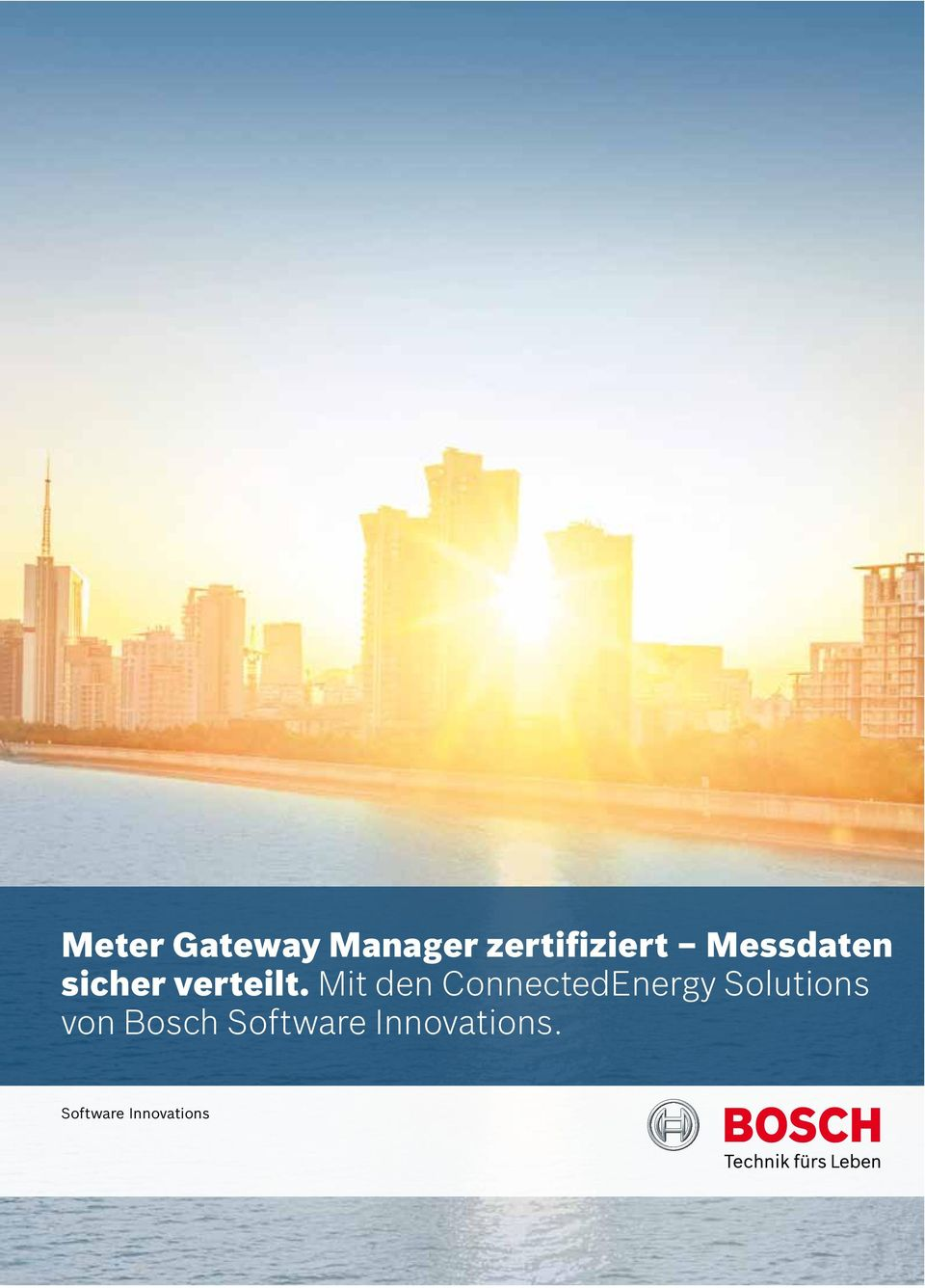 Mit den ConnectedEnergy Solutions