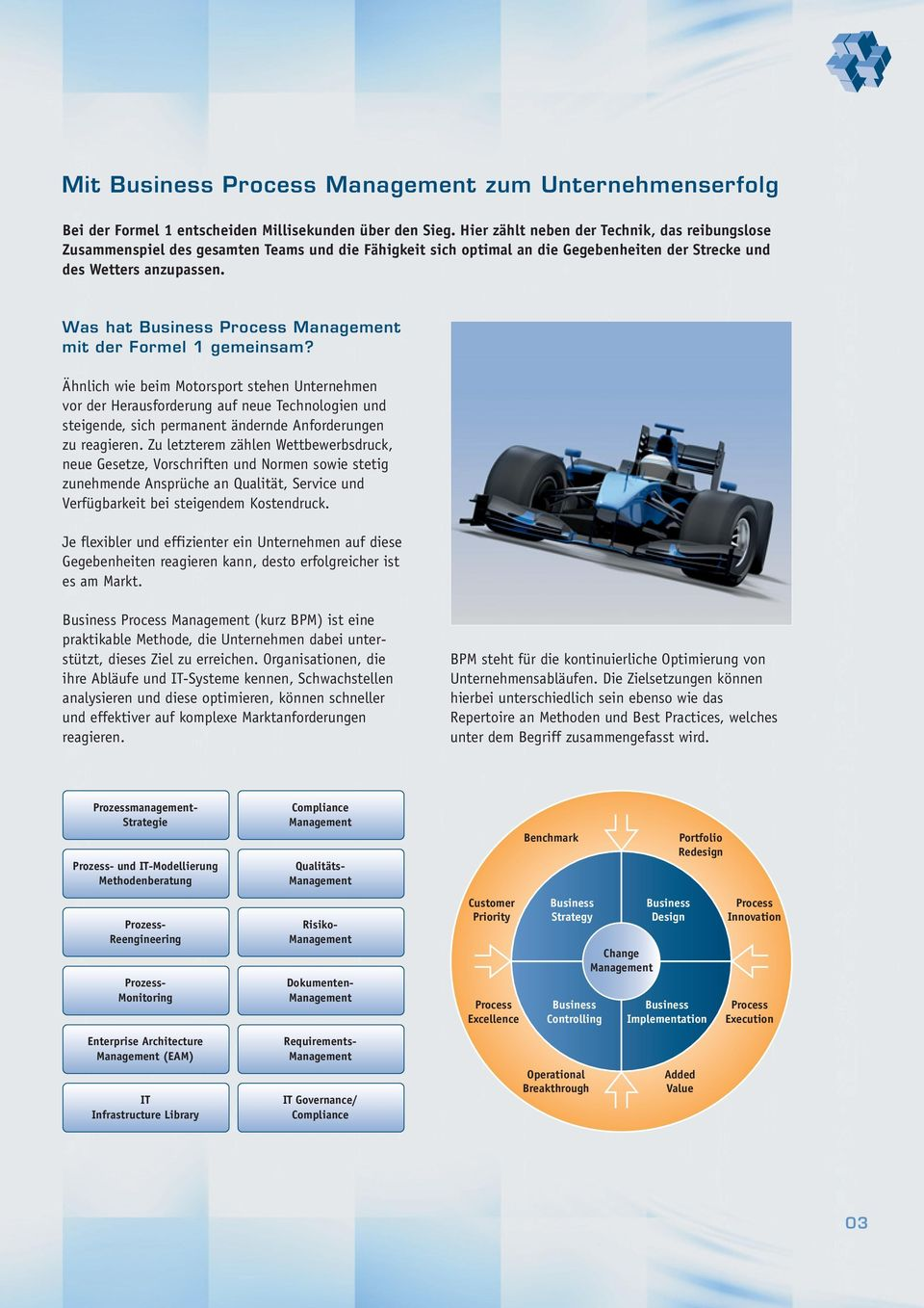 Was hat Business Process Management mit der Formel 1 gemeinsam?