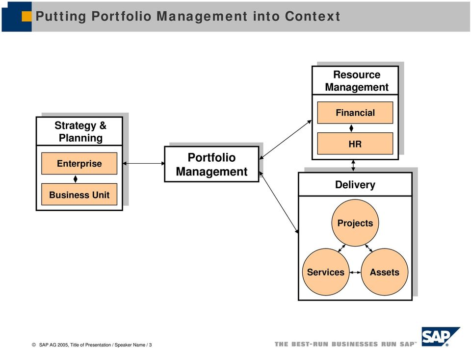 Portfolio Management Financial HR Delivery Projects