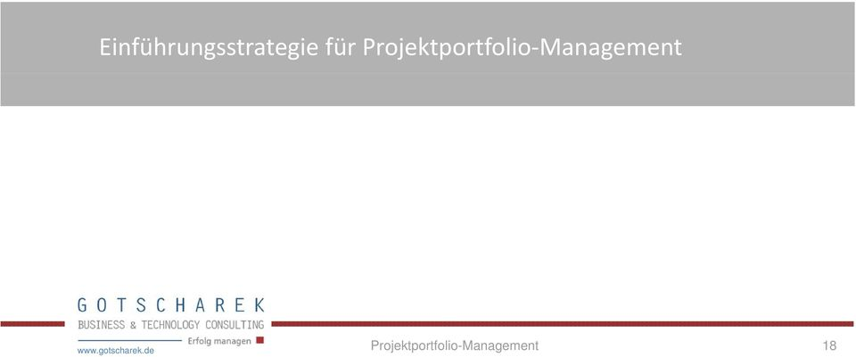 Management www.gotscharek.