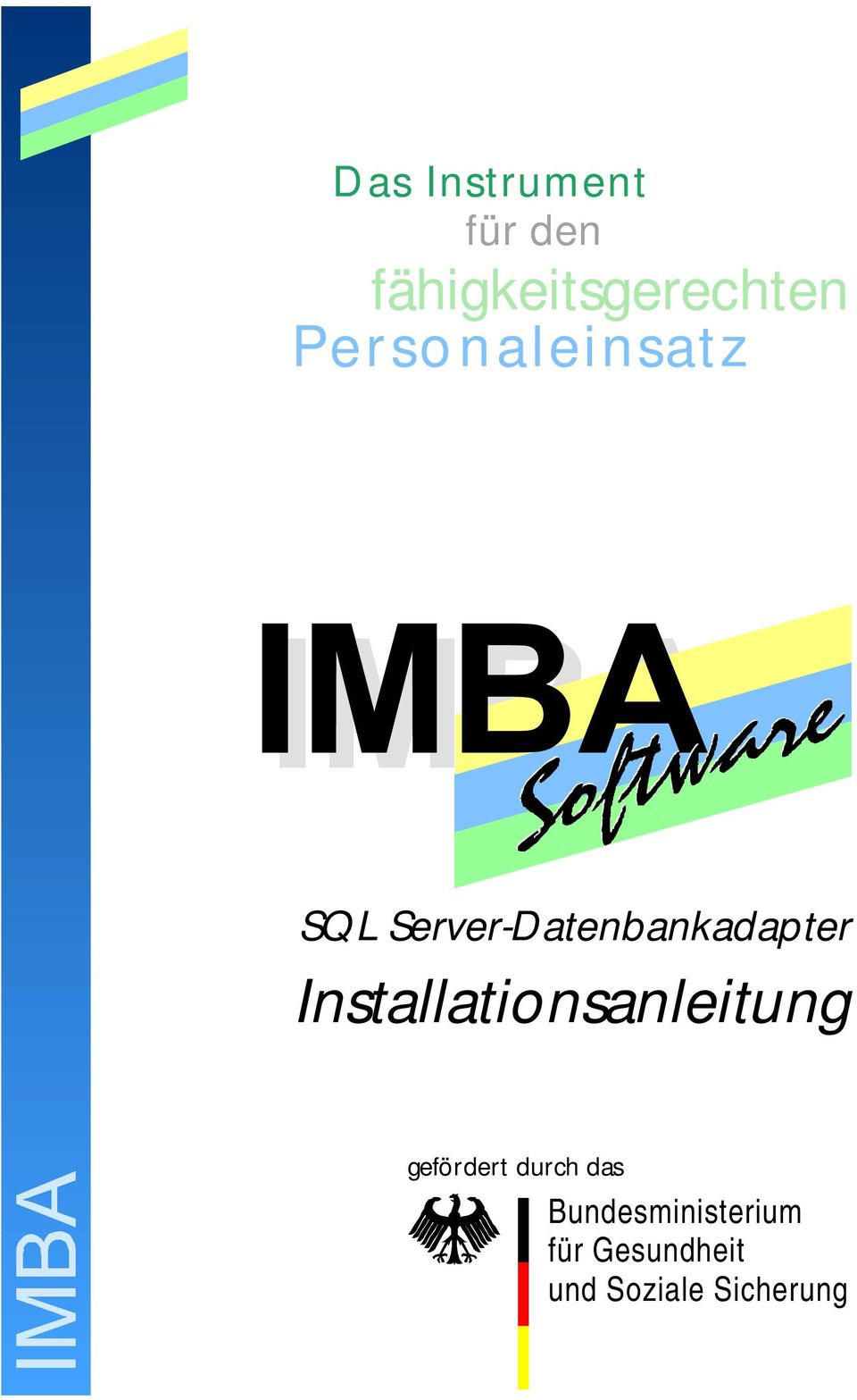 Server-Datenbankadapter Installationsanleitung