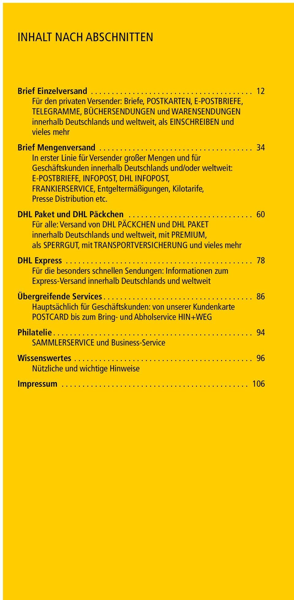 sammlerservice deutsche post