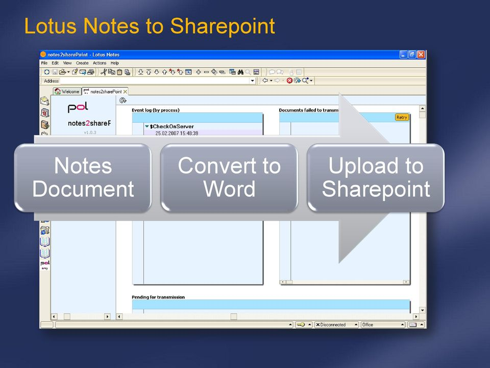 Document Convert to