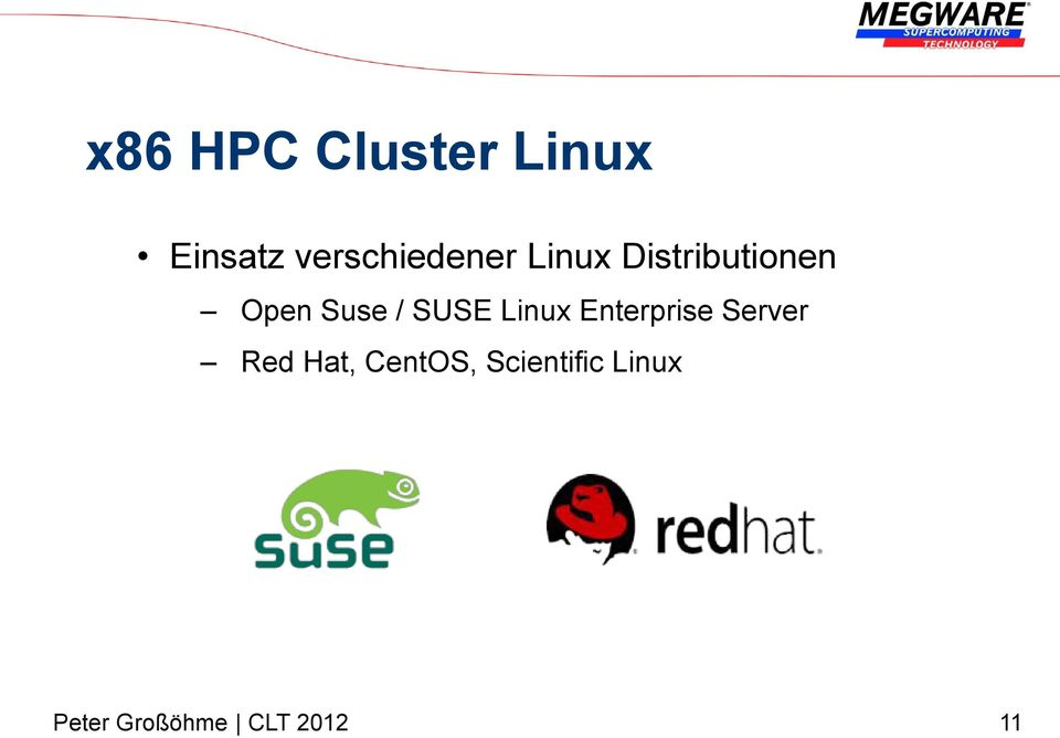 Open Suse / SUSE Linux Enterprise