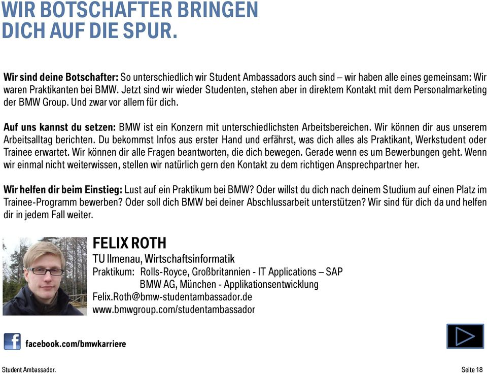 Applications SAP BMW AG, München -