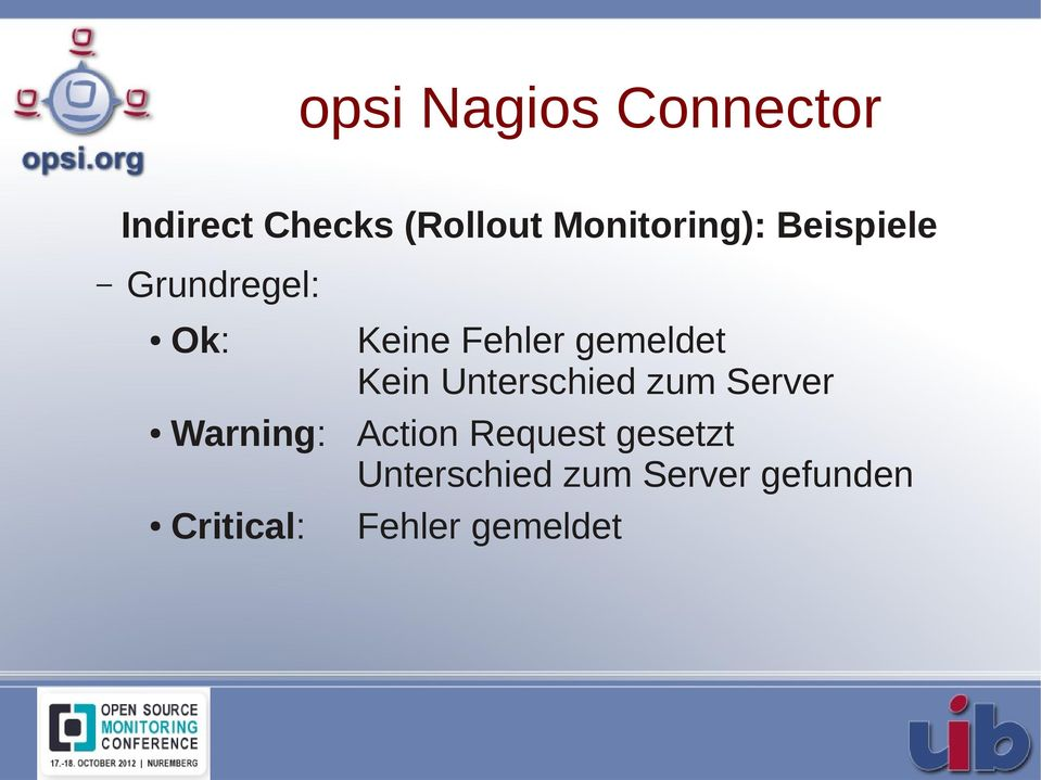 Kein Unterschied zum Server Warning: Action Request