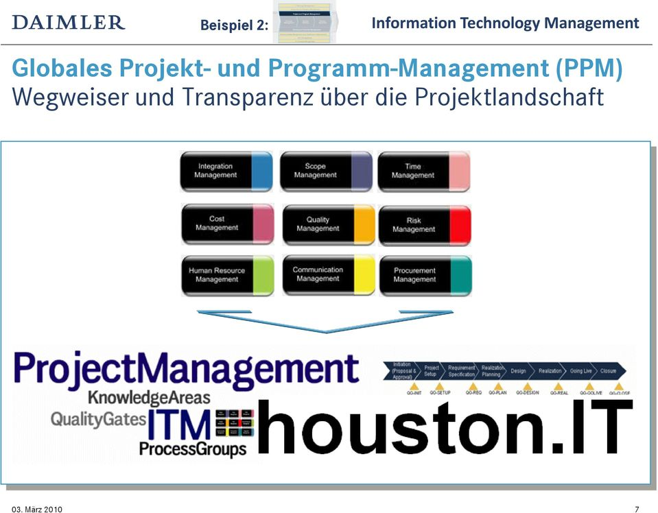 Programm-Management (PPM)