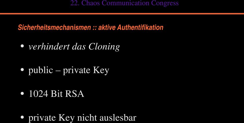 Cloning public private Key 1024