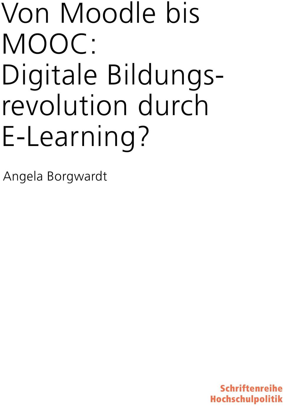 durch E-Learning?
