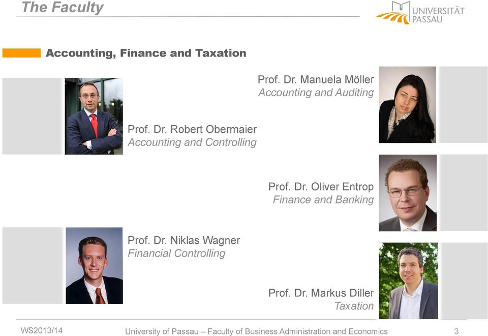 Robert Obermaier Accounting and Controlling Prof. Dr.