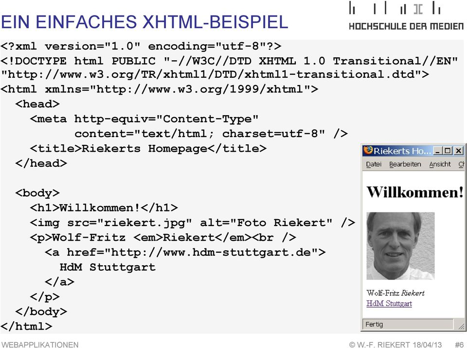 "org/1999/xhtml""> <head> <meta http-equiv=""content-type"" content=""text/html; charset=utf-8"" /> <title>riekerts Homepage</title> </head> <body>"