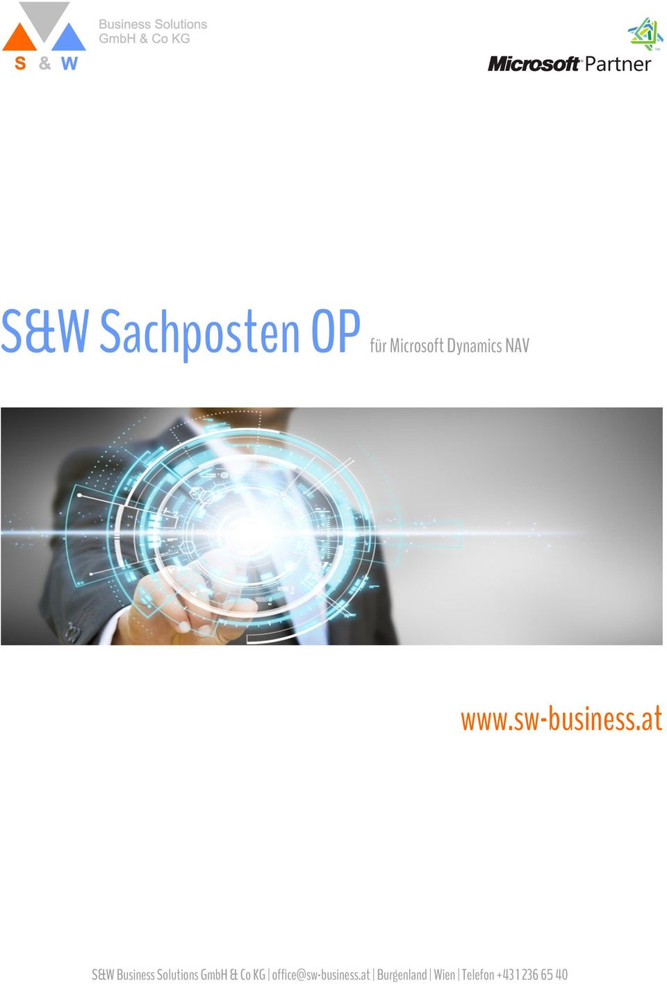 at S&W Business Solutions GmbH & Co KG