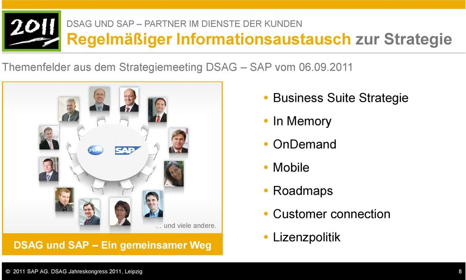 2011 Business Suite Strategie In Memory OnDemand Mobile Roadmaps und viele andere.