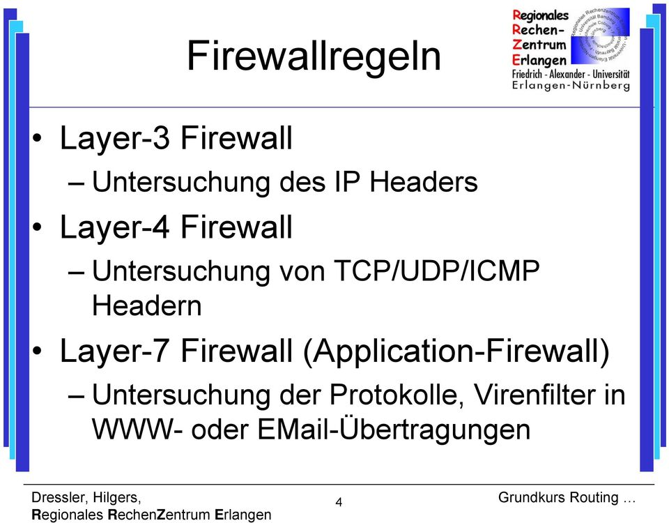 Headern Layer-7 Firewall (Application-Firewall)