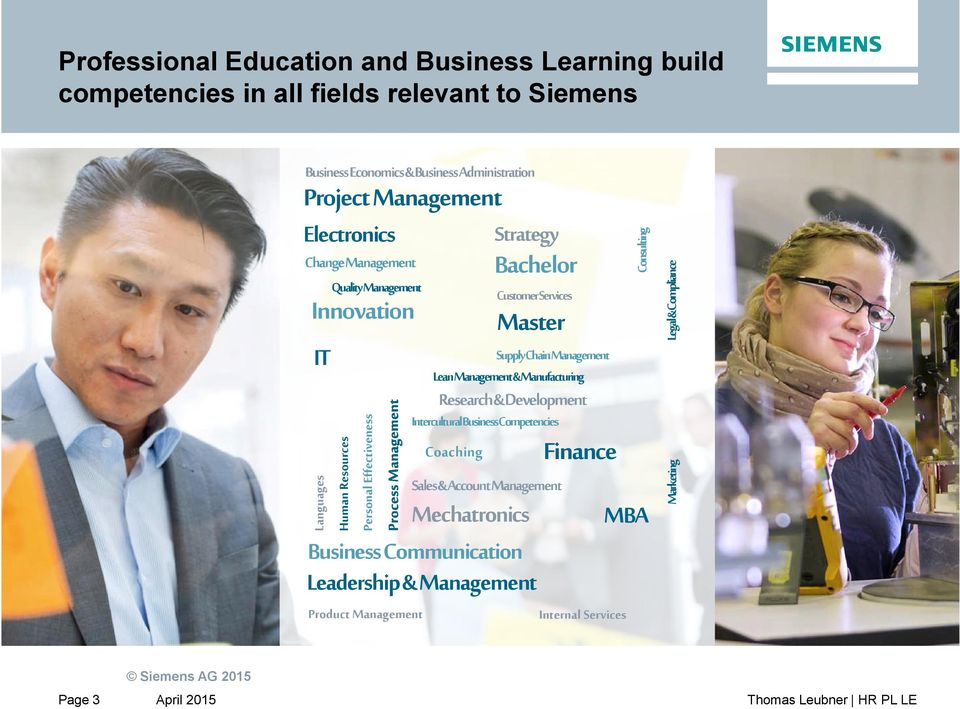 Master SupplyChainManagement LeanManagement&Manufacturing Research&Development InterculturalBusinessCompetencies Coaching Strategy Bachelor