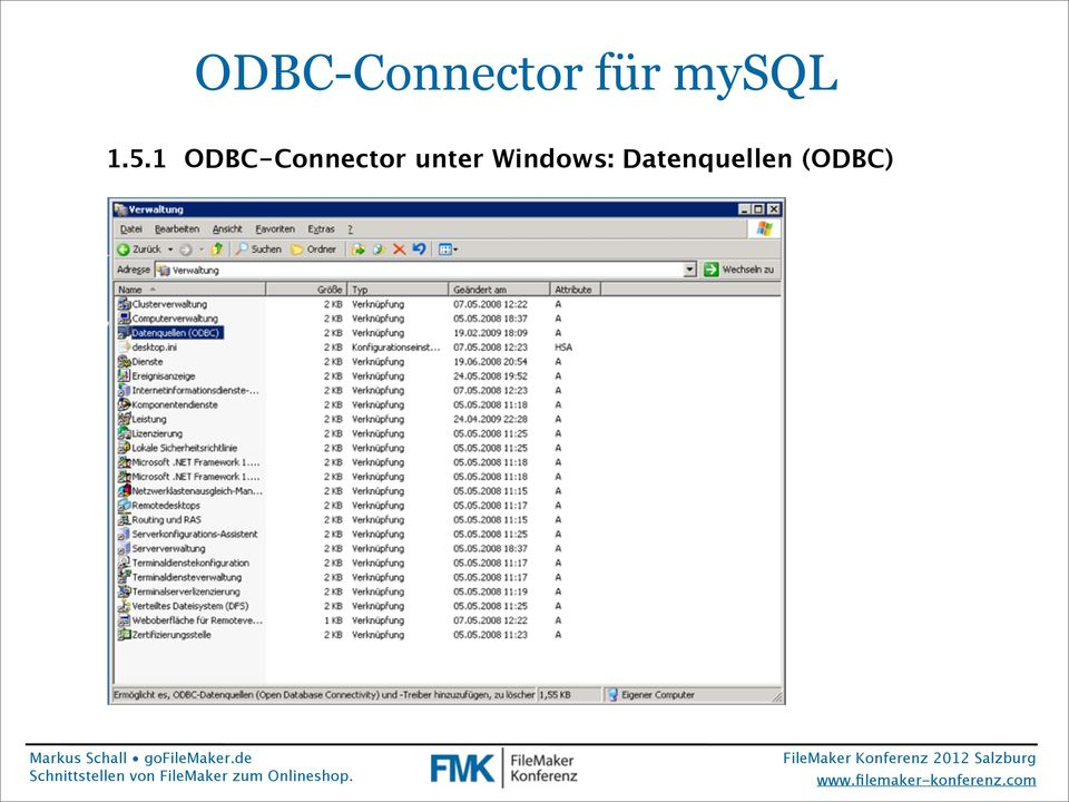 1 ODBC-Connector