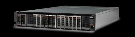 IBM FlashSystem 840 Highlights Leistung im Überblick Minimum latency Write 90 µs Read 135 µs Maximum IOPS 4 KB