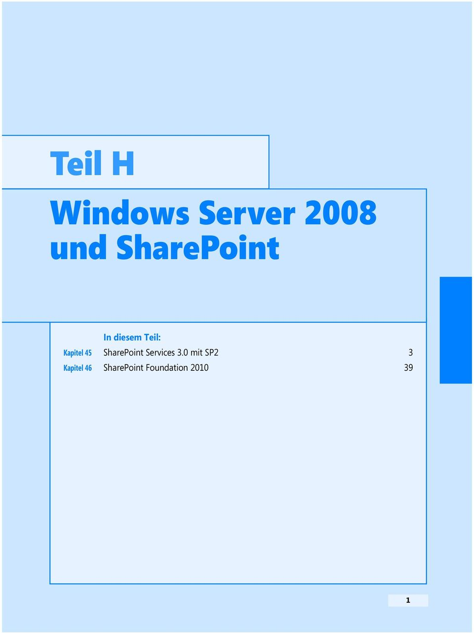 45 SharePoint Services 3.