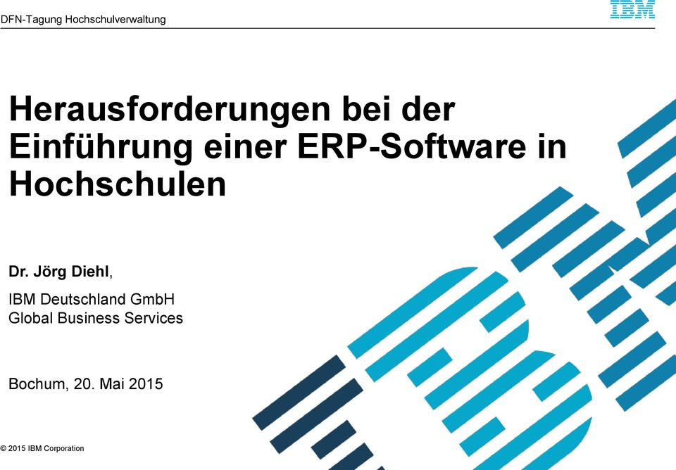 ERP-Software in Hochschulen Dr.