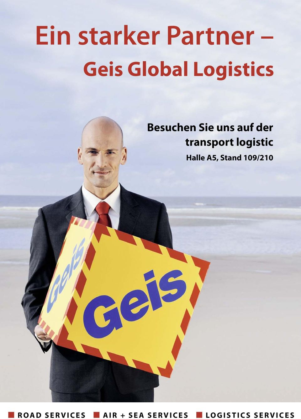 transport logistic Halle A5, Stand