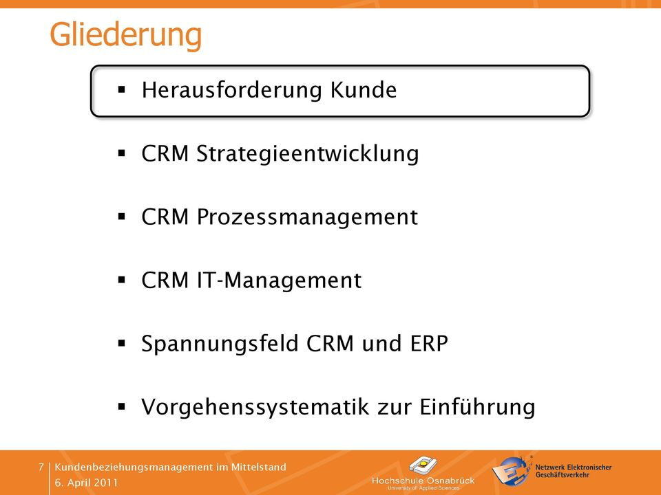 Prozessmanagement CRM IT-Management