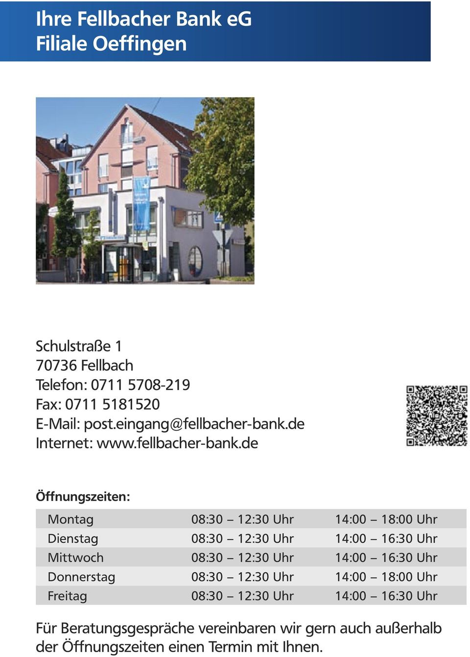 de Internet: www.fellbacher-bank.
