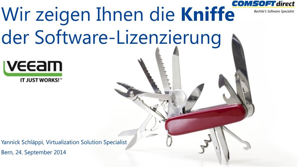 Schläppi, Virtualization