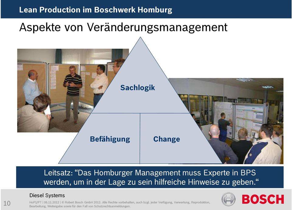 Management muss Experte in BPS werden, um in