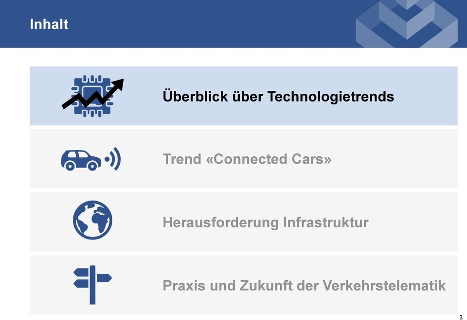 «Connected Cars» Herausforderung