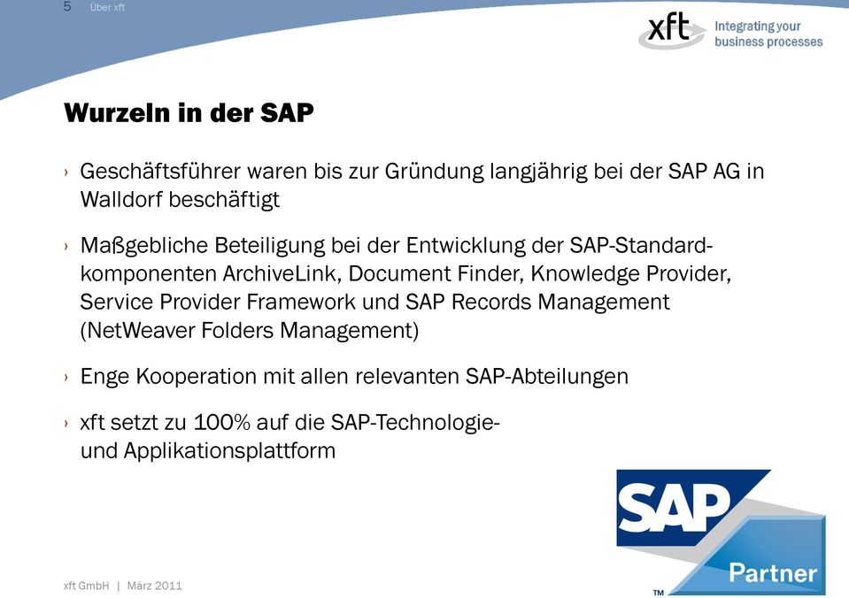Finder, Knowledge Provider, Service Provider Framework und SAP Records Management (NetWeaver Folders