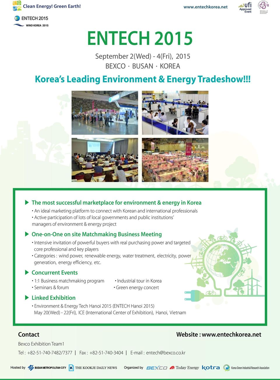 !! The most successful marketplace for environment & energy in Korea
