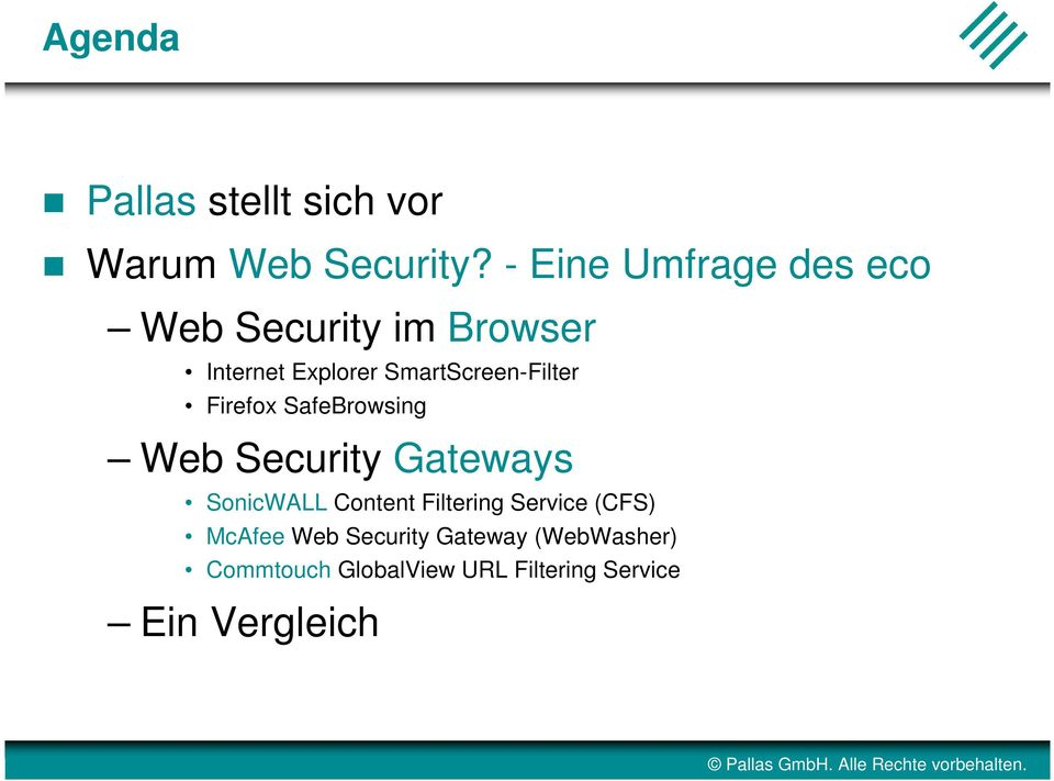 SmartScreen-Filter Firefox SafeBrowsing Web Security Gateways SonicWALL