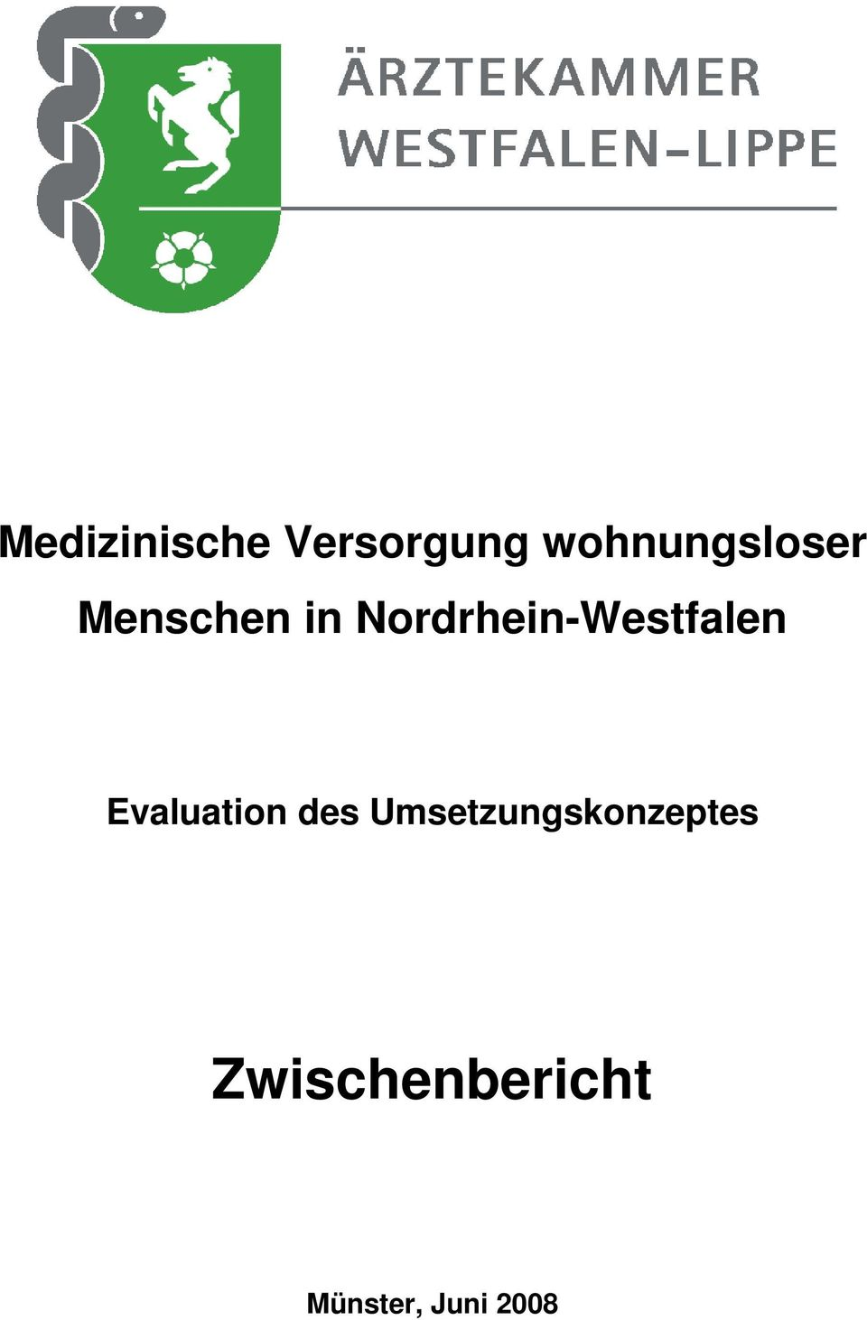 Nordrhein-Westfalen Evaluation des