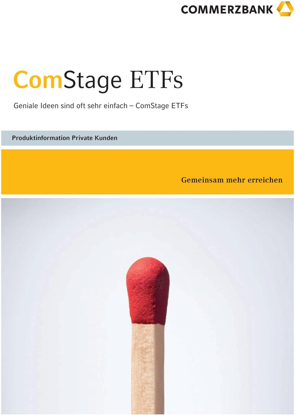 ETFs Produktinformation