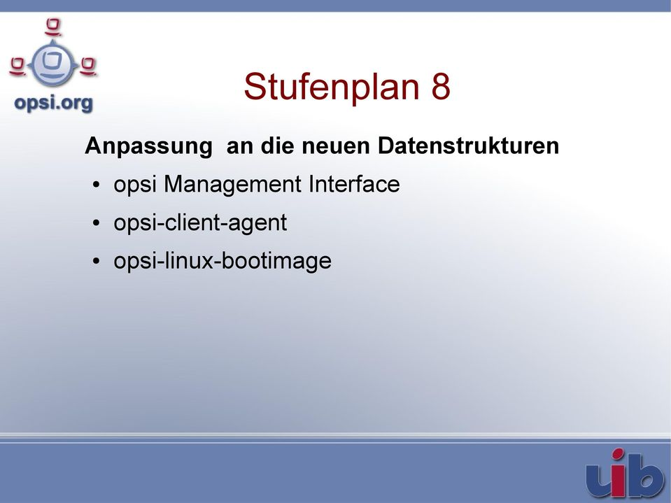 opsi Management Interface